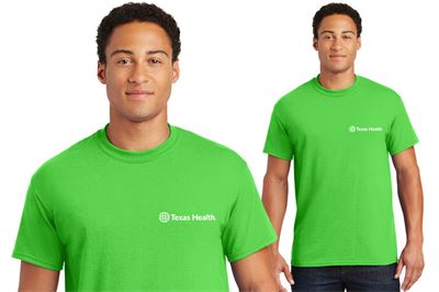 Gildan-DryBlend™ 50/50 T-shirt - Electric Green