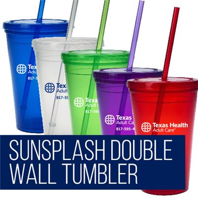Sunsplash Double Wall Tumbler