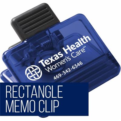 Rectangle Memo Clip