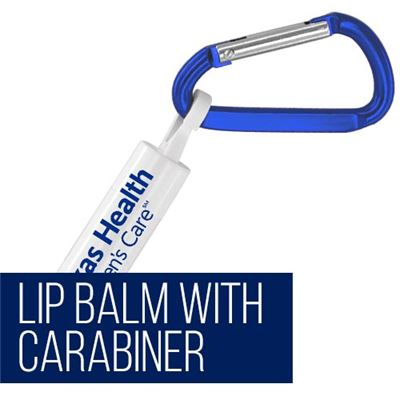 Lip Balm with Carabiner