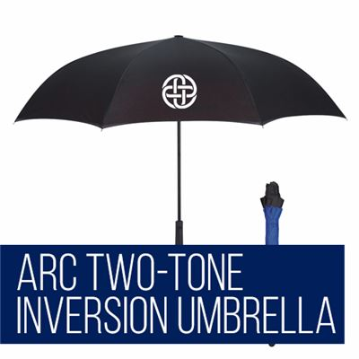 Arc Two-Tone Inversion Umbrella